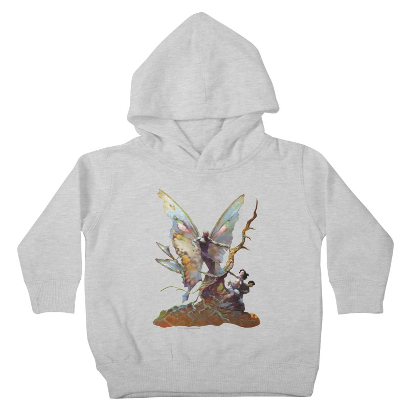 Mothman Kids Toddler Pullover Hoody by Heavy Metal Magazine