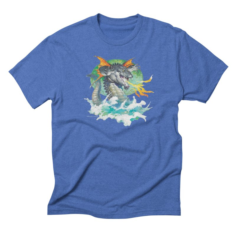 Winged Dragon Men's T-Shirt by Heavy Metal Magazine