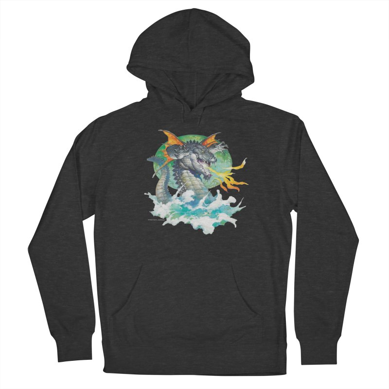 Winged Dragon Women's Pullover Hoody by Heavy Metal Magazine