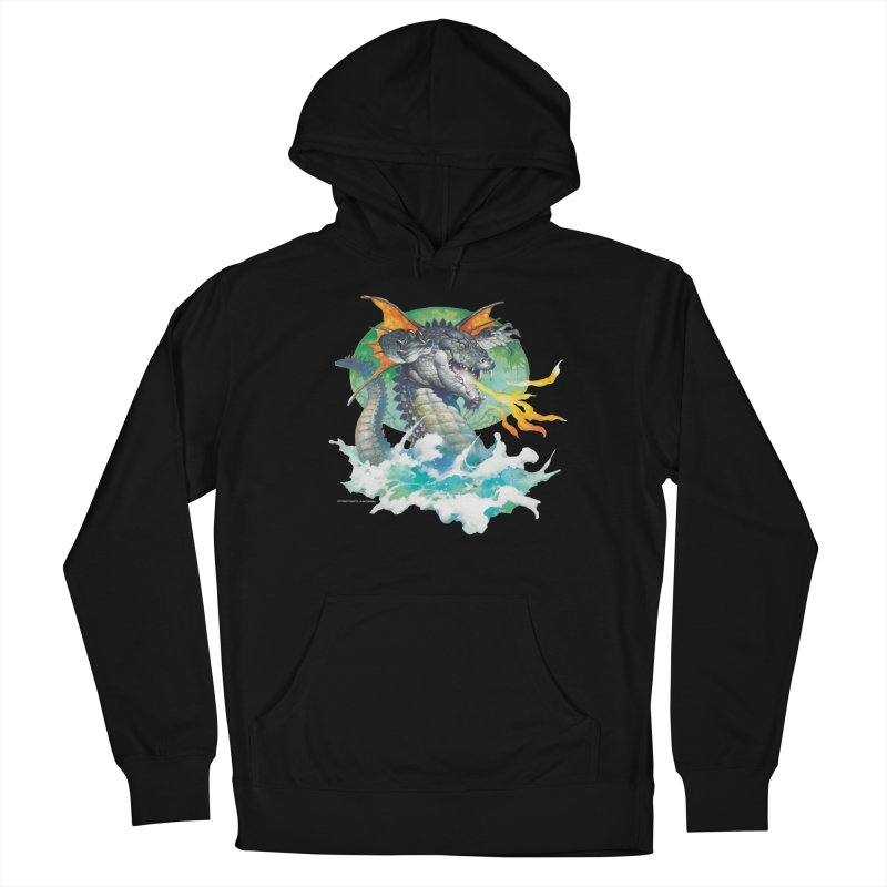 Winged Dragon Women's French Terry Pullover Hoody by Heavy Metal Magazine