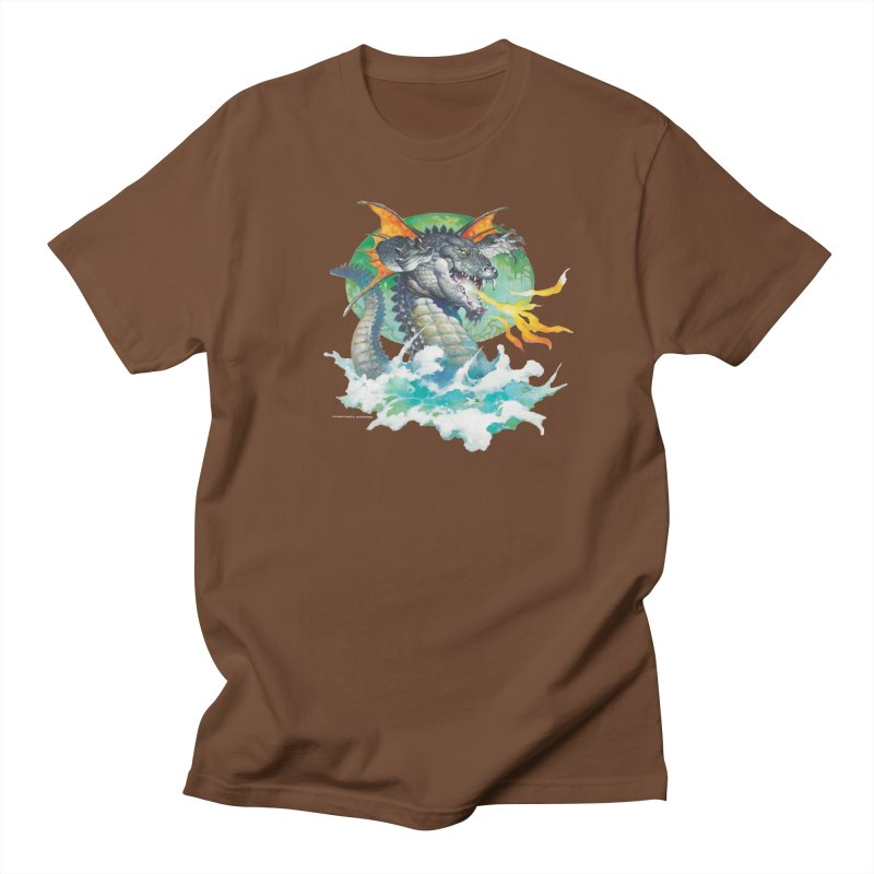 Winged Dragon Men's Regular T-Shirt by Heavy Metal Magazine