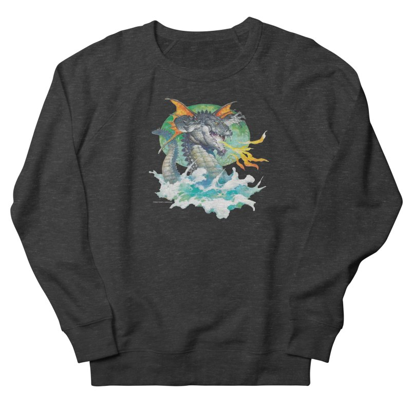 Winged Dragon Women's Sweatshirt by Heavy Metal Magazine