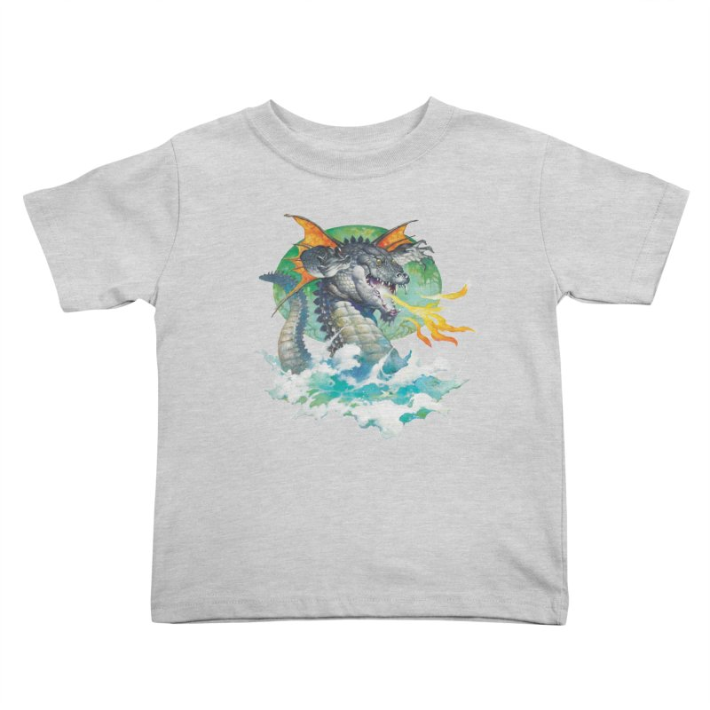 Winged Dragon Kids Toddler T-Shirt by Heavy Metal Magazine