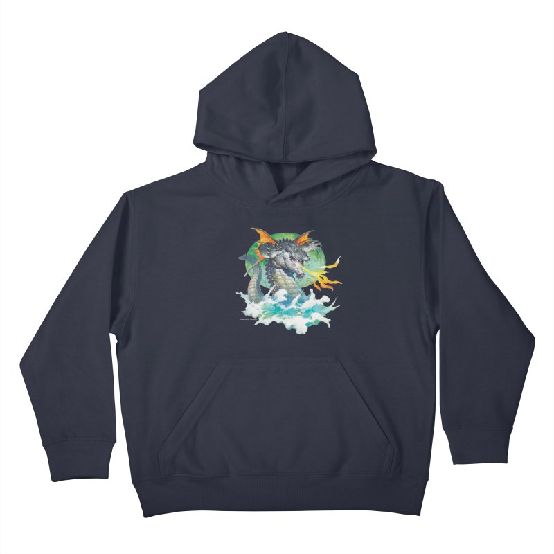 Winged Dragon Kids Pullover Hoody by Heavy Metal Magazine