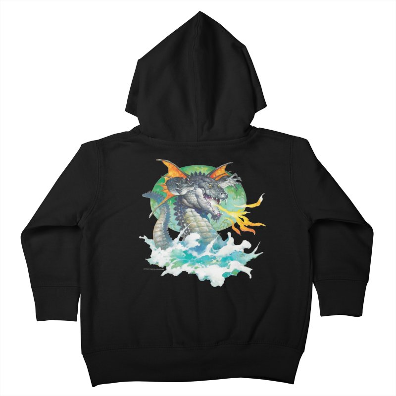 Winged Dragon Kids Toddler Zip-Up Hoody by Heavy Metal Magazine