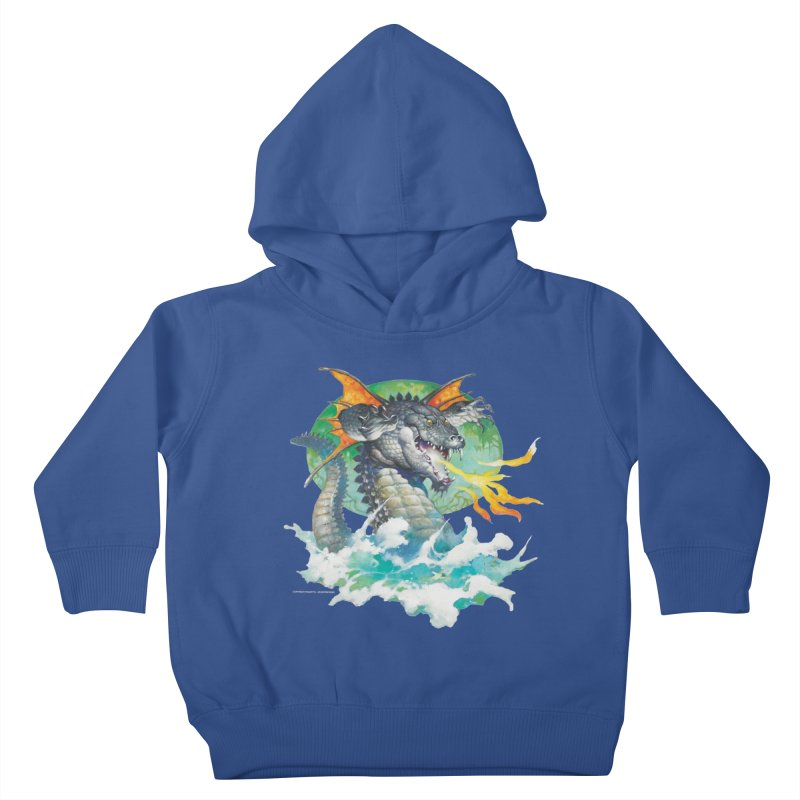 Winged Dragon Kids Toddler Pullover Hoody by Heavy Metal Magazine