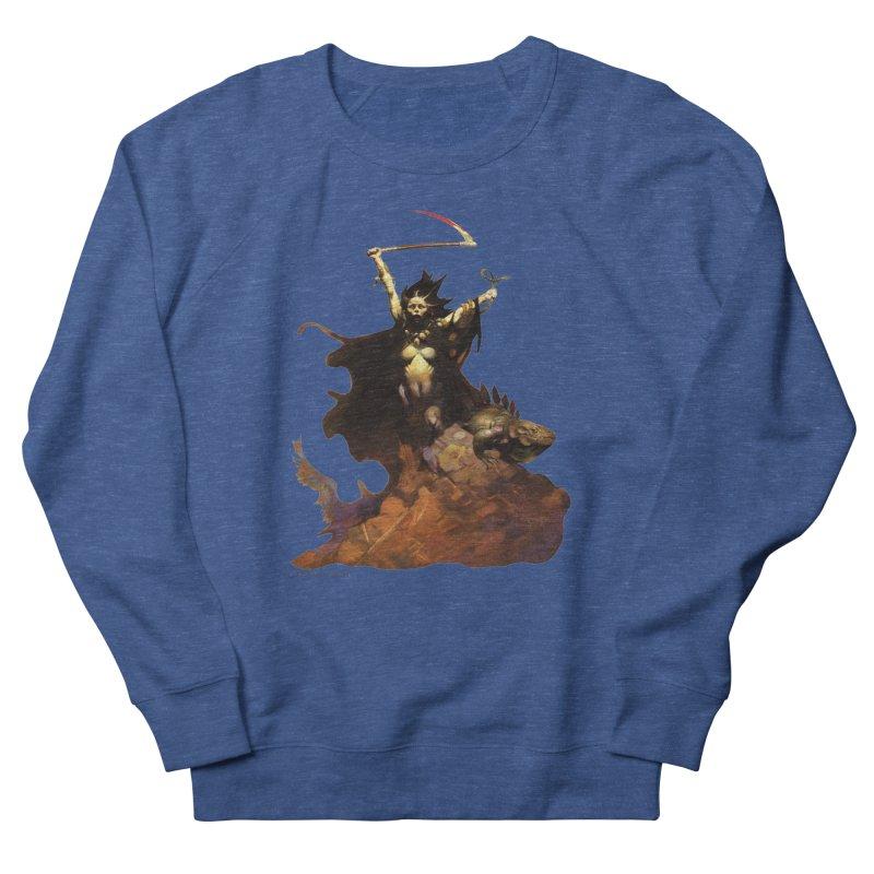Woman with the Scythe Women's Sweatshirt by Heavy Metal Magazine