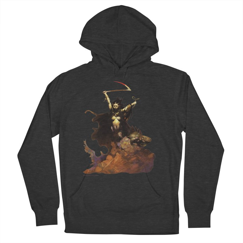 Woman with the Scythe Men's Pullover Hoody by Heavy Metal Magazine