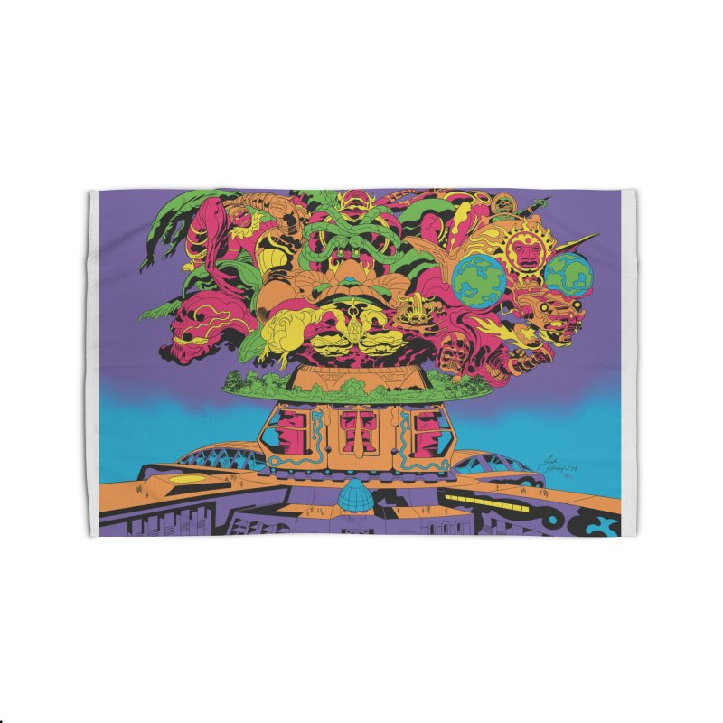 Supremacy - Jack Kirby and Barry Geller Home Rug by Heavy Metal Magazine