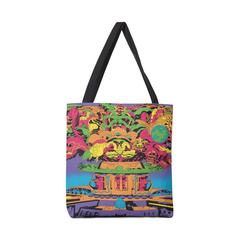 Supremacy - Jack Kirby and Barry Geller Accessories Tote Bag Bag by Heavy Metal Magazine