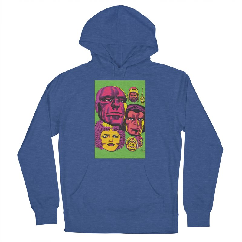 Portraits Men's Pullover Hoody by Heavy Metal Magazine