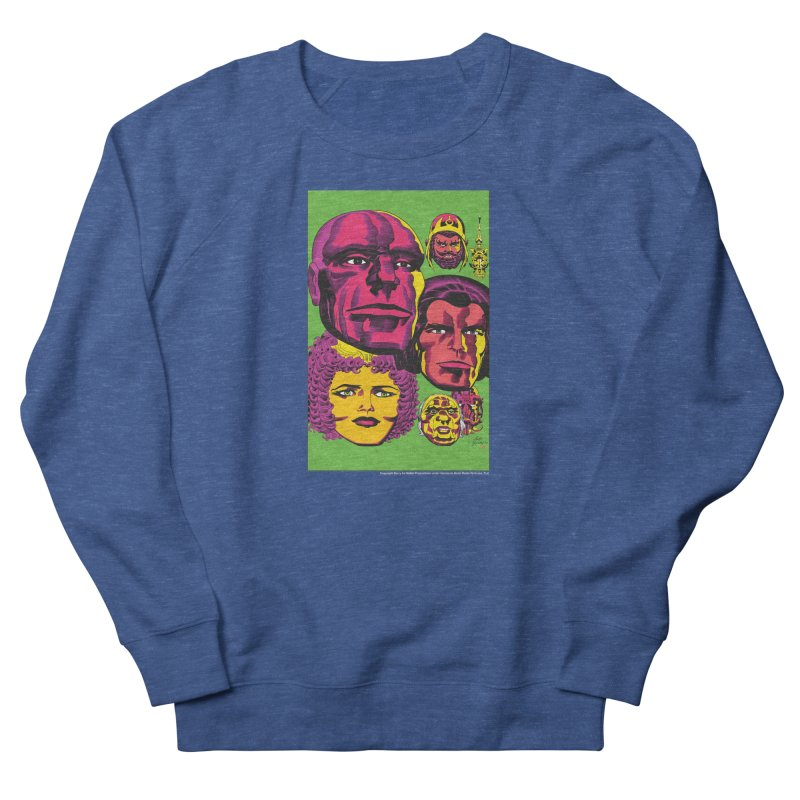 Portraits Men's Sweatshirt by Heavy Metal Magazine
