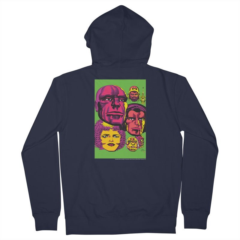 Portraits Men's French Terry Zip-Up Hoody by Heavy Metal Magazine
