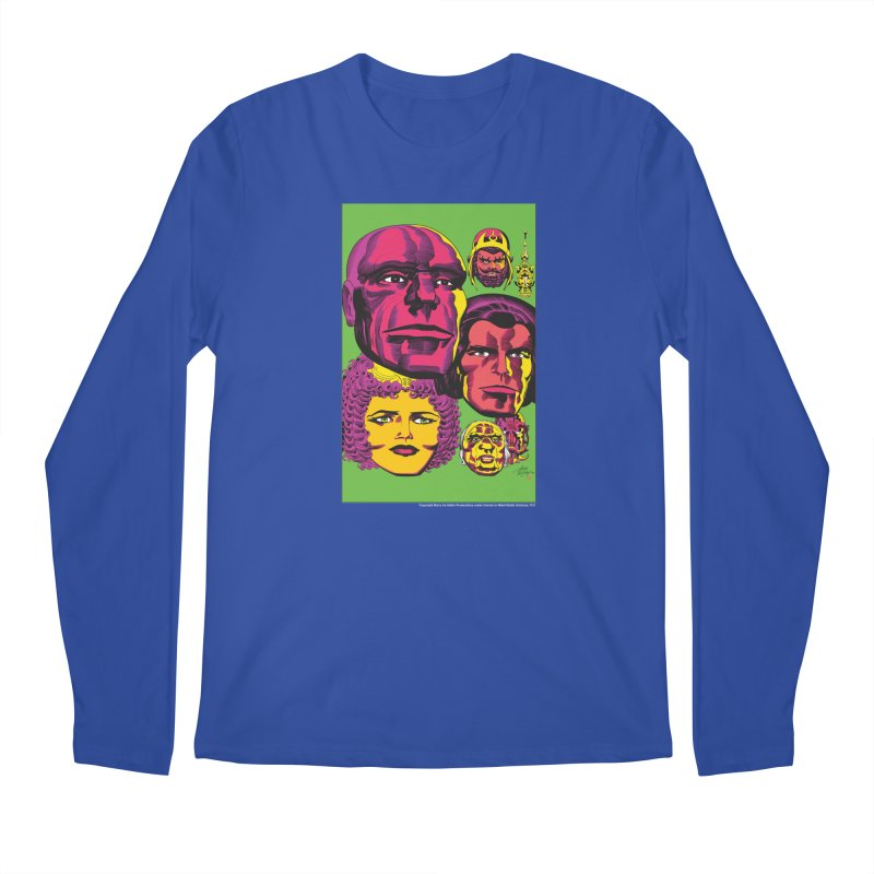 Portraits Men's Regular Longsleeve T-Shirt by Heavy Metal Magazine