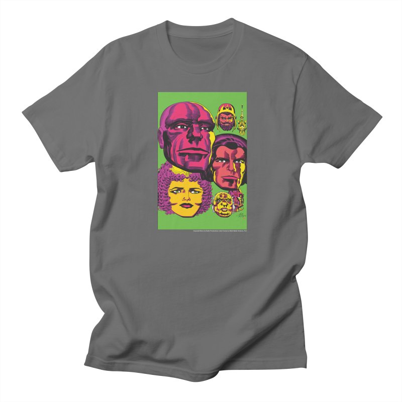 Portraits Women's Regular Unisex T-Shirt by Heavy Metal Magazine