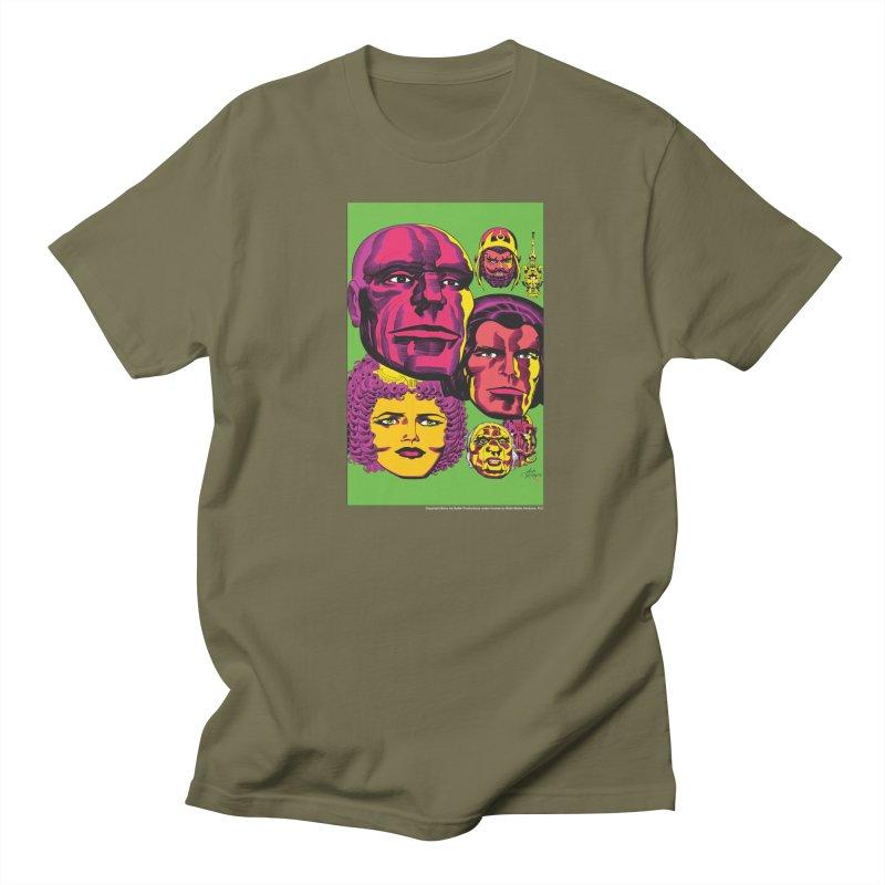 Portraits Men's Regular T-Shirt by Heavy Metal Magazine