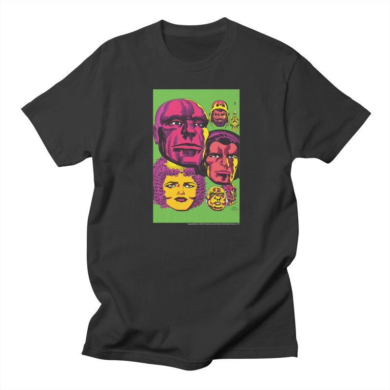 Portraits Men's T-Shirt by Heavy Metal Magazine