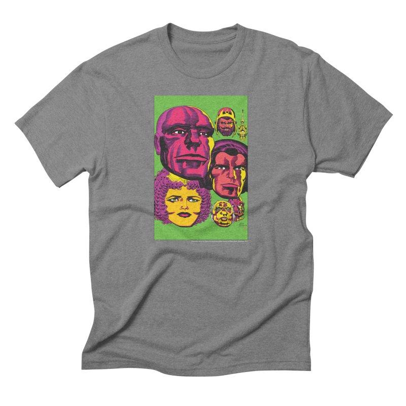 Portraits Men's Triblend T-Shirt by Heavy Metal Magazine
