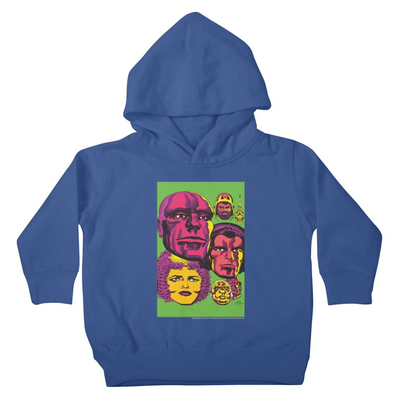 Portraits Kids Toddler Pullover Hoody by Heavy Metal Magazine