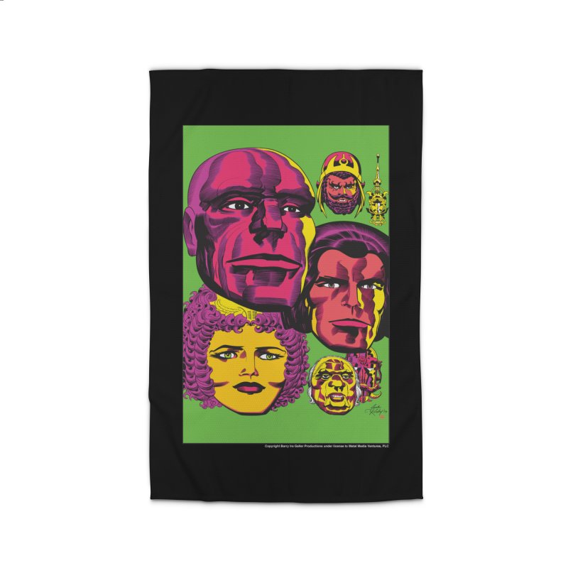 Portraits Home Rug by Heavy Metal Magazine