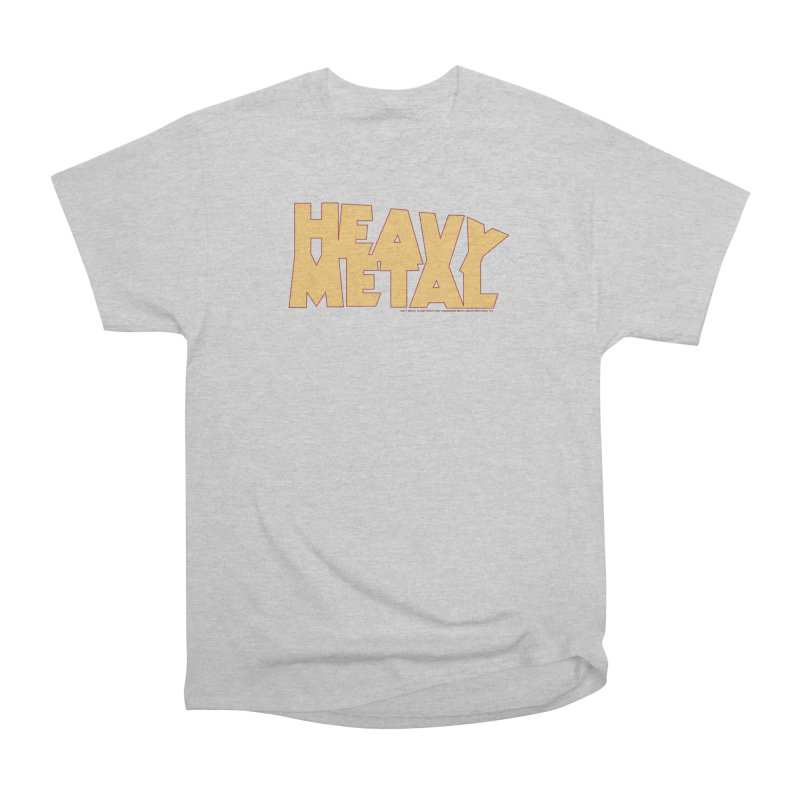 Heavy Metal Women's Heavyweight Unisex T-Shirt by Heavy Metal Magazine