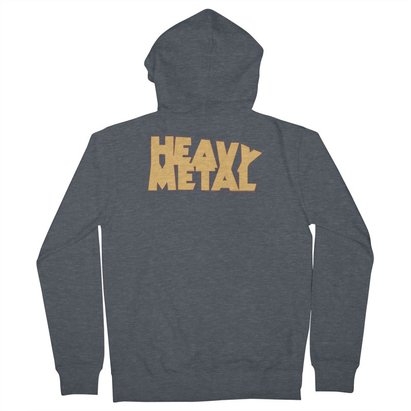 Heavy Metal Women's French Terry Zip-Up Hoody by Heavy Metal Magazine