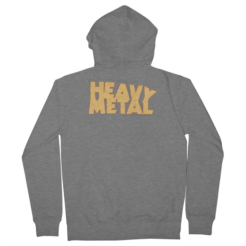 Heavy Metal! Women's French Terry Zip-Up Hoody by Heavy Metal Magazine