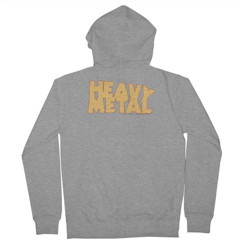Heavy Metal Women's French Terry Zip-Up Hoody by Heavy Metal Magazine