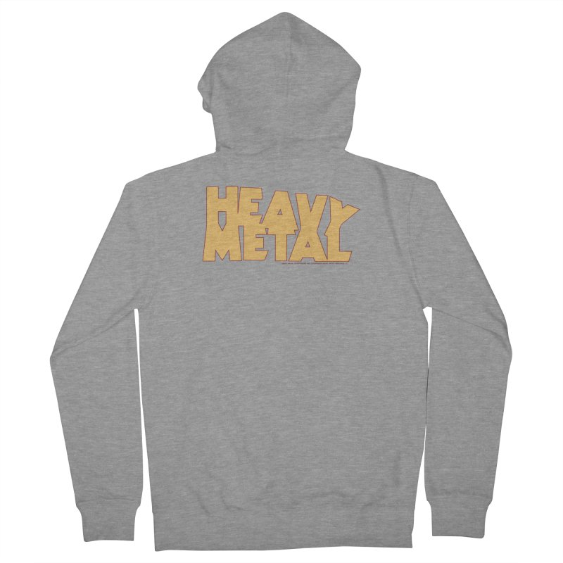 Heavy Metal Men's French Terry Zip-Up Hoody by Heavy Metal Magazine