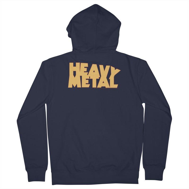 Heavy Metal! Men's Zip-Up Hoody by Heavy Metal Magazine