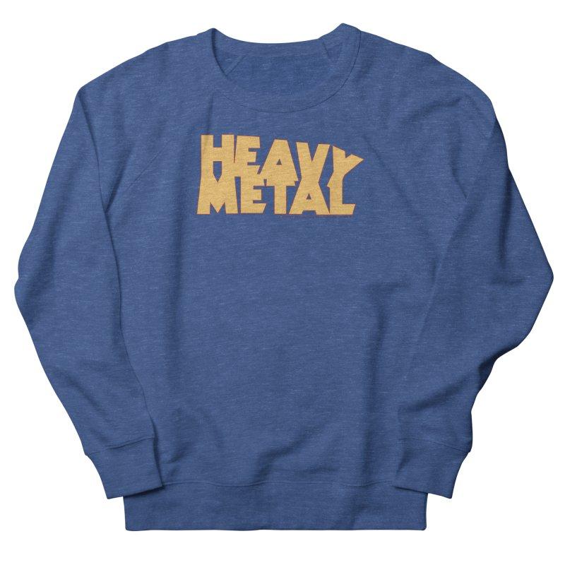 Heavy Metal Women's French Terry Sweatshirt by Heavy Metal Magazine