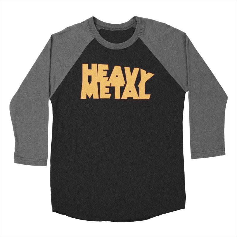 Heavy Metal! Men's Baseball Triblend Longsleeve T-Shirt by Heavy Metal Magazine