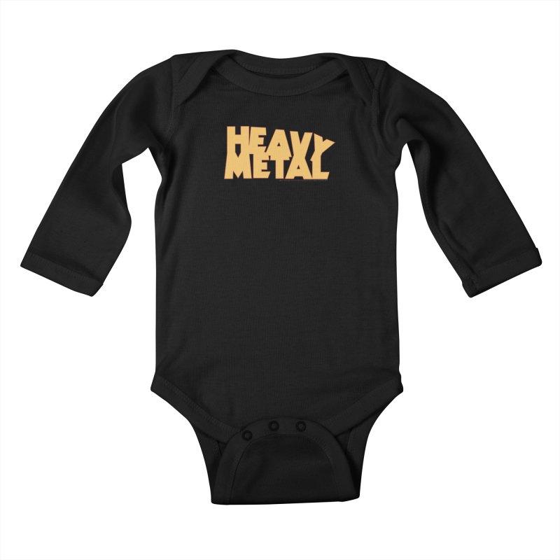 Heavy Metal Kids Baby Longsleeve Bodysuit by Heavy Metal Magazine