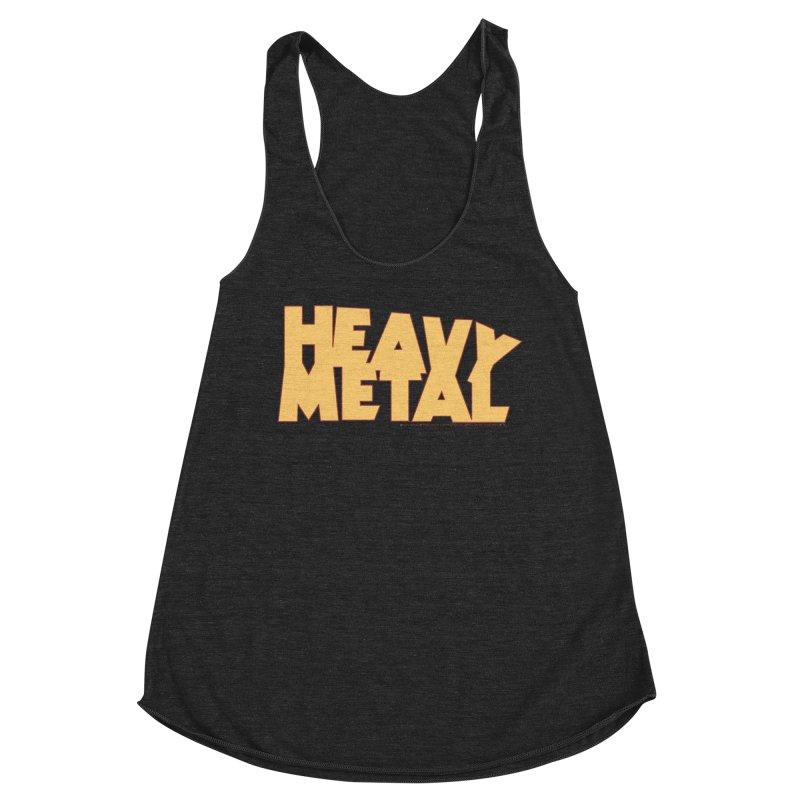 Heavy Metal! Women's Racerback Triblend Tank by Heavy Metal Magazine
