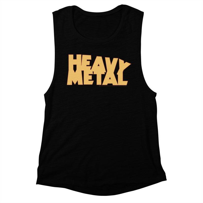 Heavy Metal! Women's Muscle Tank by Heavy Metal Magazine