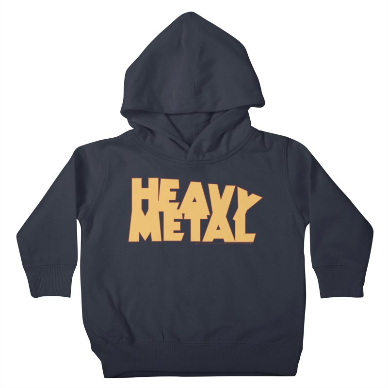 Heavy Metal Kids Toddler Pullover Hoody by Heavy Metal Magazine