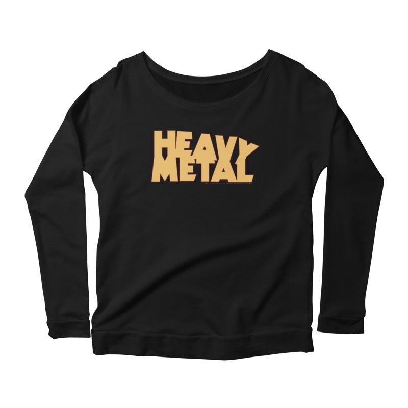 Heavy Metal Women's Scoop Neck Longsleeve T-Shirt by Heavy Metal Magazine