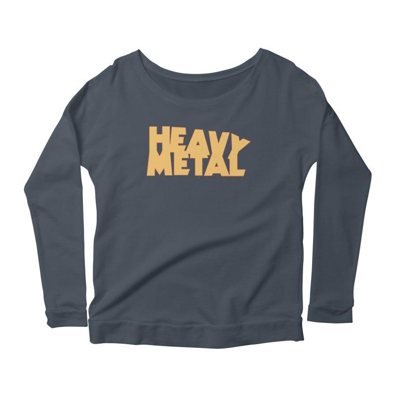 Heavy Metal! Women's Scoop Neck Longsleeve T-Shirt by Heavy Metal Magazine