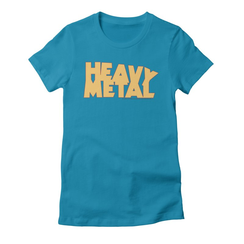 Heavy Metal Women's Fitted T-Shirt by Heavy Metal Magazine