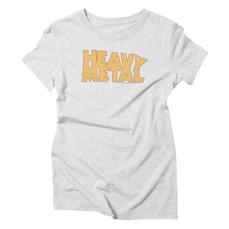 Heavy Metal! Women's Triblend T-Shirt by Heavy Metal Magazine