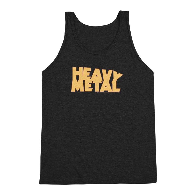 Heavy Metal Men's Triblend Tank by Heavy Metal Magazine