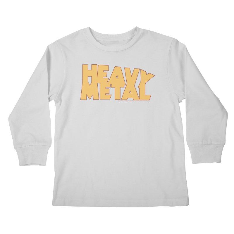 Heavy Metal! Kids Longsleeve T-Shirt by Heavy Metal Magazine