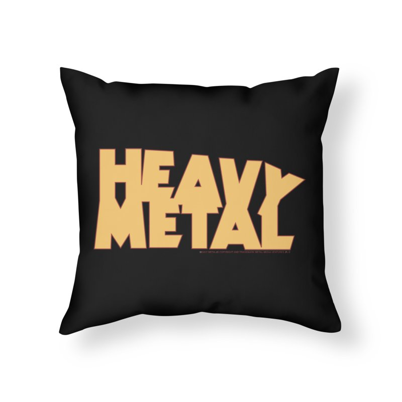Heavy Metal! Home Throw Pillow by Heavy Metal Magazine