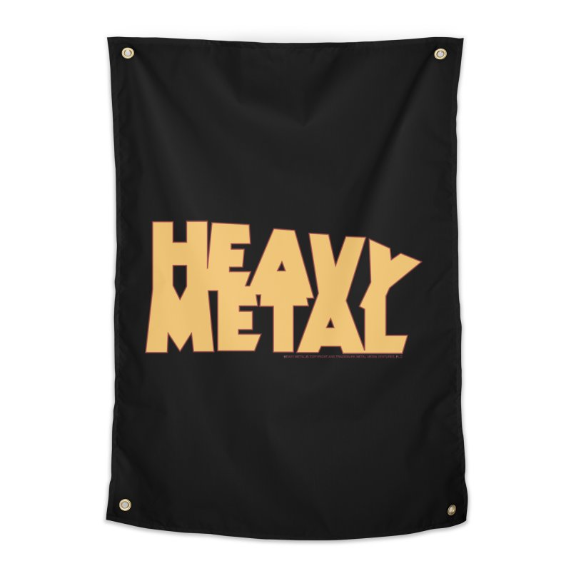 Heavy Metal Home Tapestry by Heavy Metal Magazine