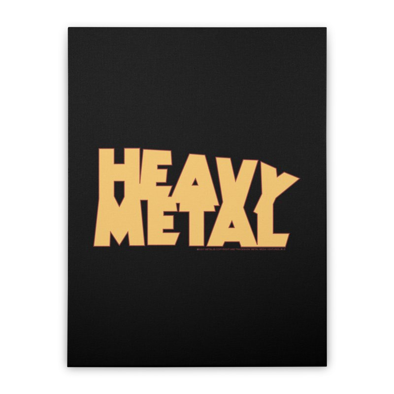 Heavy Metal Home Stretched Canvas by Heavy Metal Magazine