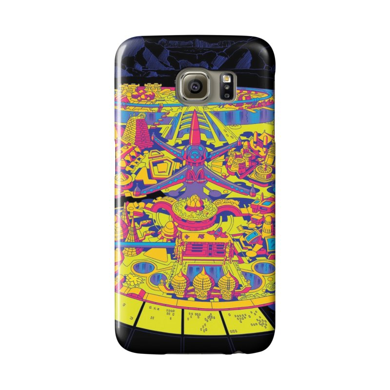 Science Fiction Land - Jack Kirby and Barry Geller Accessories Phone Case by Heavy Metal Magazine