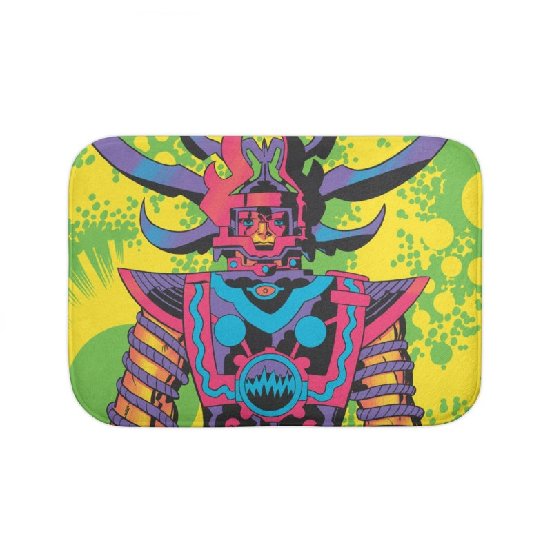 Sam - Jack Kirby and Barry Geller Home Bath Mat by Heavy Metal Magazine