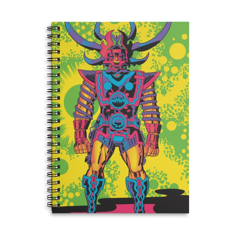 Sam - Jack Kirby and Barry Geller Accessories Lined Spiral Notebook by Heavy Metal Magazine