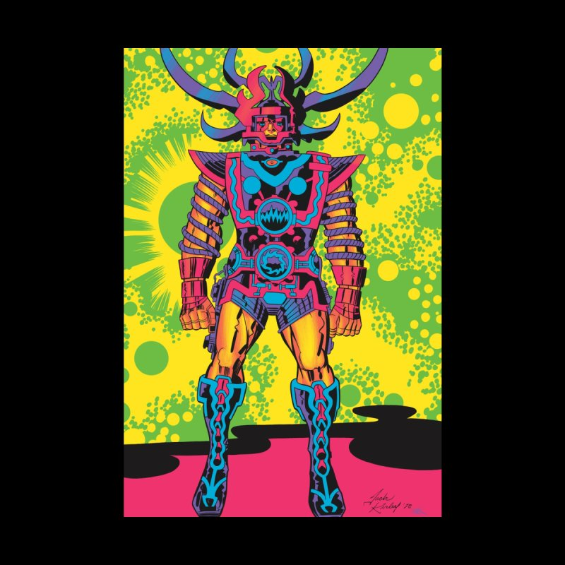 Sam - Jack Kirby and Barry Geller Home Blanket by Heavy Metal Magazine