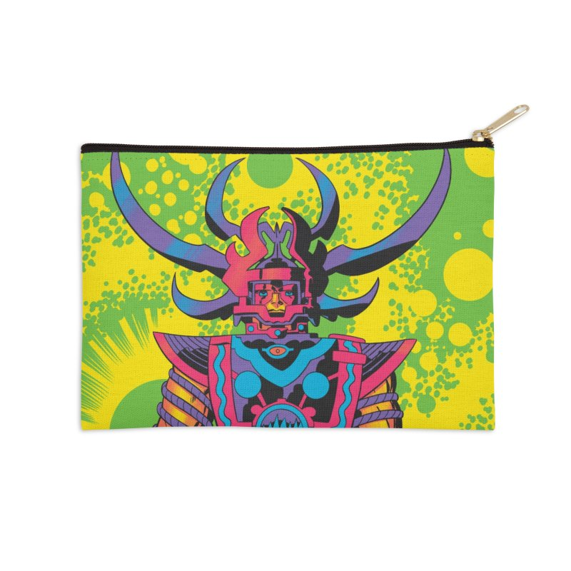 Sam - Jack Kirby and Barry Geller Accessories Zip Pouch by Heavy Metal Magazine